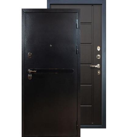 Входная дверь Лекс Титан серебро ФЛ-41 (Венге)