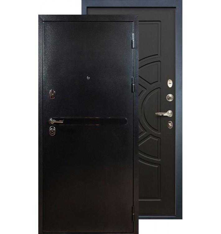 Входная дверь Лекс Титан серебро ФЛ-43 (Венге)