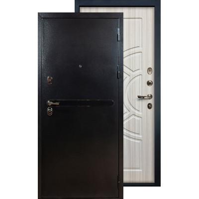 Входная дверь Лекс Титан серебро ФЛ-44 (Сандал белый)