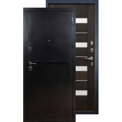 Входная дверь Лекс Титан серебро Сицилио (Венге)