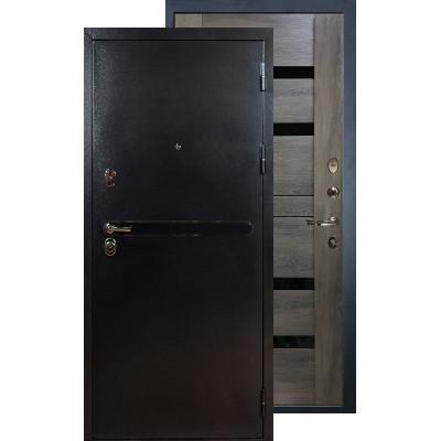 Входная дверь Лекс Титан серебро Неро (Графит шале)
