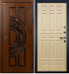 Входная дверь Лекс Спартак ФЛ-28 (Беленый дуб)