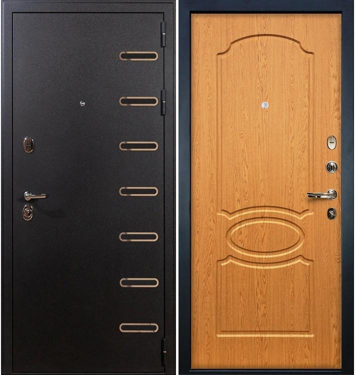 Входная дверь Витязь / Дуб натуральный (панель №15)