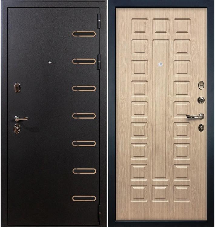 Входная дверь Витязь / Беленый дуб (панель №20)