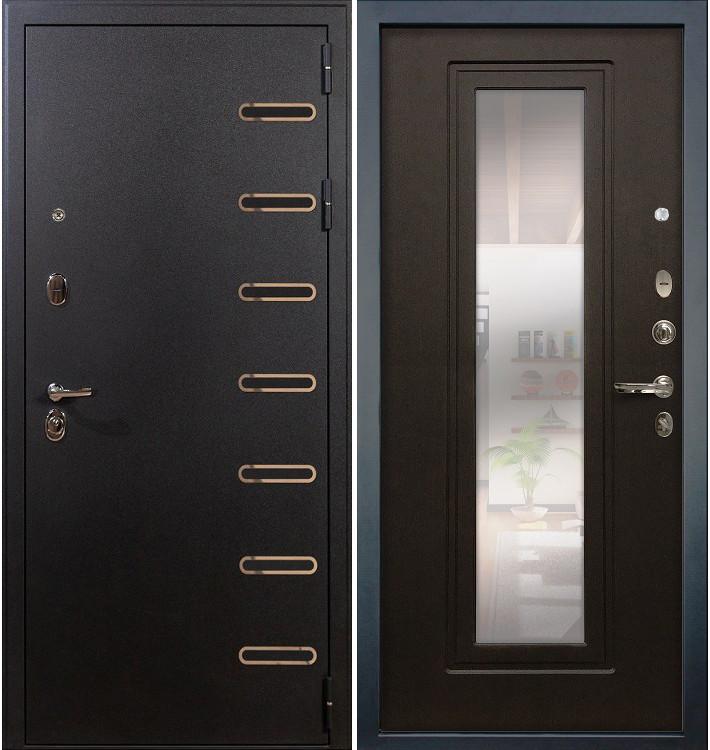 Входная дверь Витязь / с зеркалом Венге (панель №22)