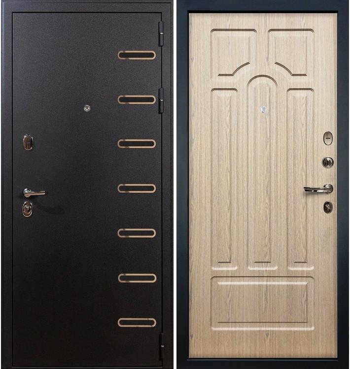 Входная дверь Витязь / Беленый дуб (панель №25)