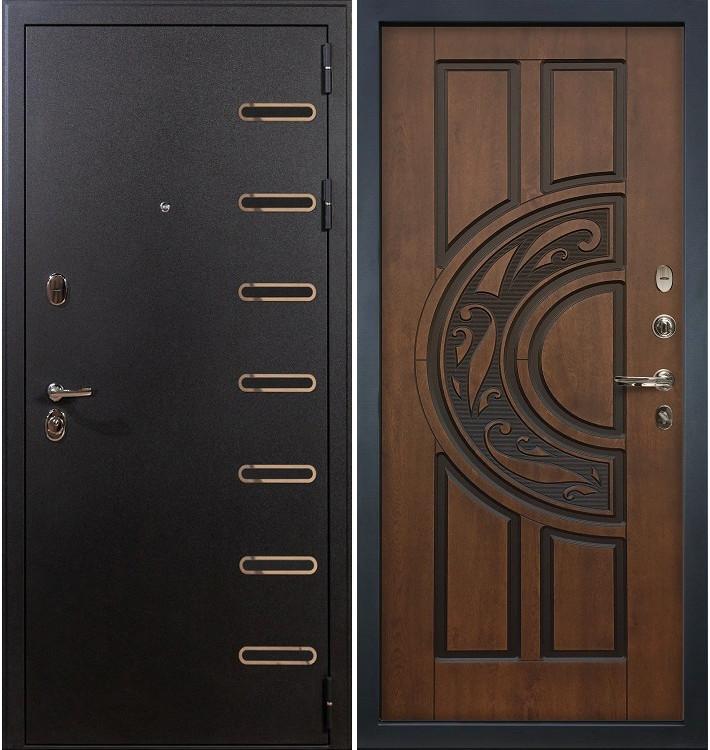 Входная дверь Витязь / Голден патина (панель №27)