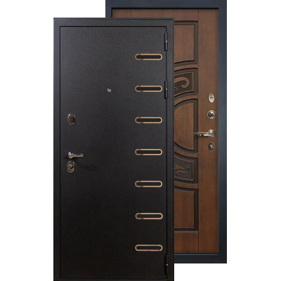 Входная дверь Лекс Витязь ФЛ-27 (Голден патина)