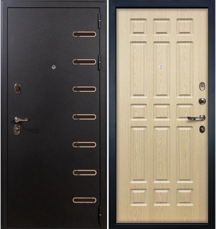 Входная дверь Витязь / Беленый дуб (панель №28)