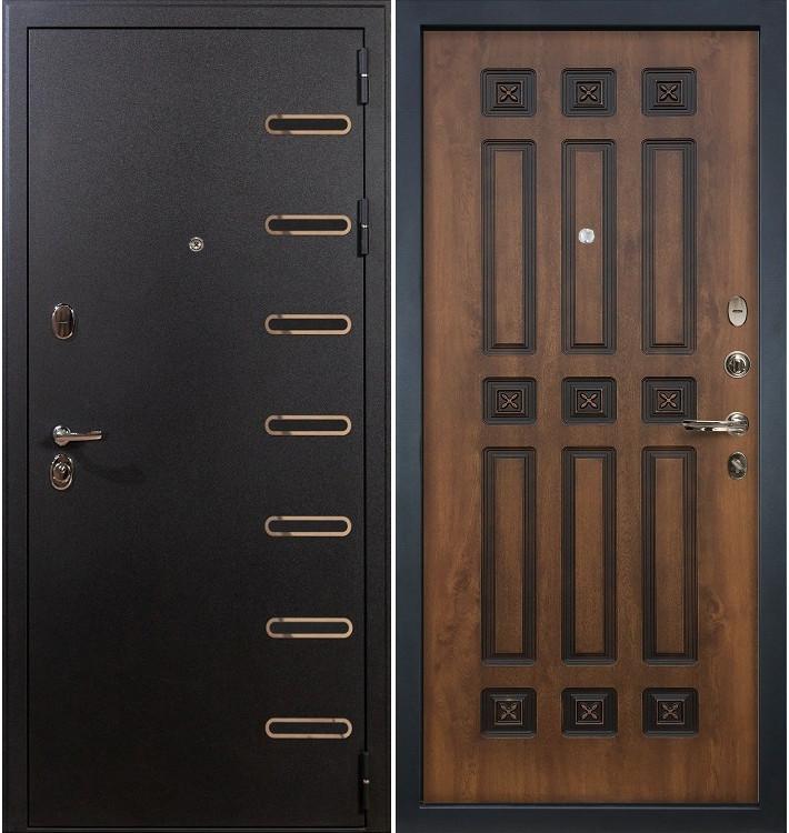 Входная дверь Витязь / Голден патина (панель №33)