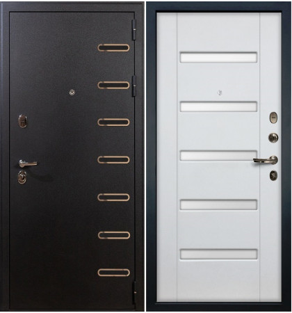 Входная дверь Витязь / Белый ясень (панель №34)