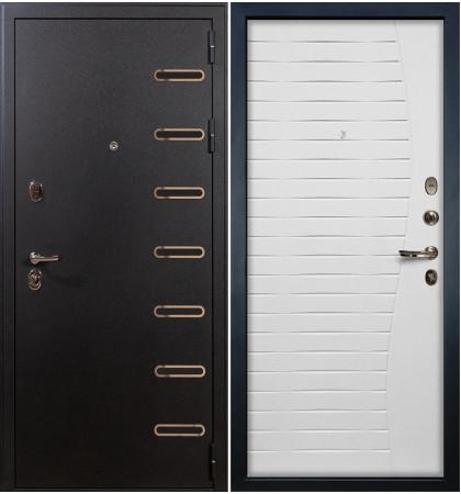 Входная дверь Витязь / Волна Белый ясень (панель №36)