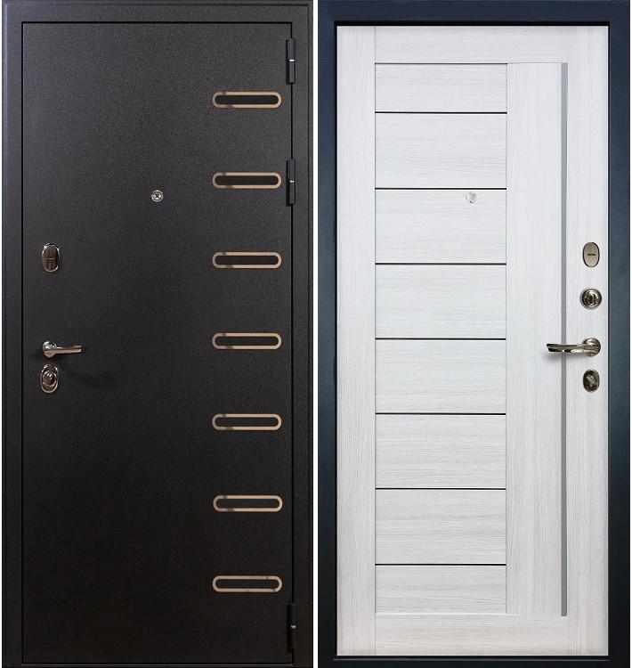 Входная дверь Витязь / Верджиния Беленый дуб (панель №38)