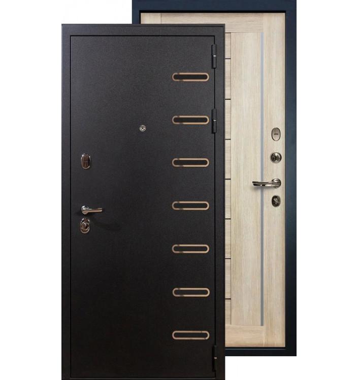 Входная дверь Лекс Витязь Верджиния (Кремовый ясень)