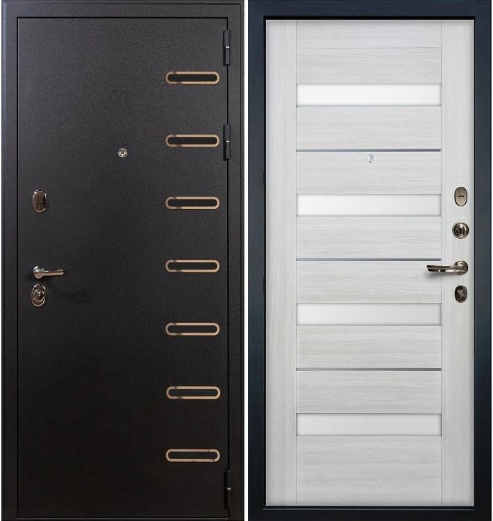 Входная дверь Витязь / Сицилио Беленый дуб (панель №46)