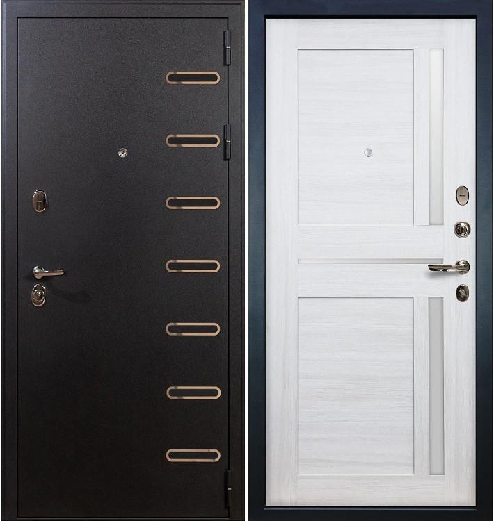 Входная дверь Витязь / Баджио Беленый дуб (панель №47)