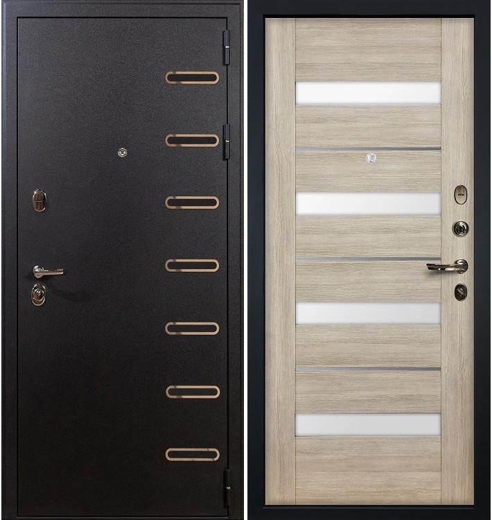 Входная дверь Витязь / Сицилио Ясень кремовый (панель №48)