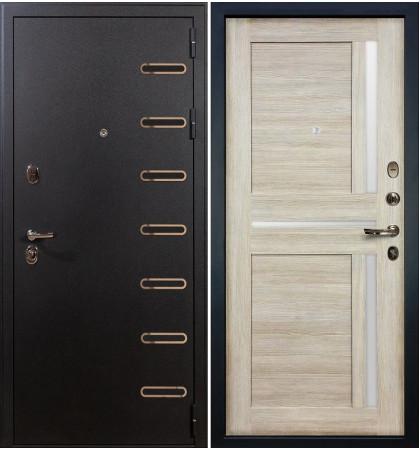 Входная дверь Витязь / Баджио Кремовый ясень (панель №49)