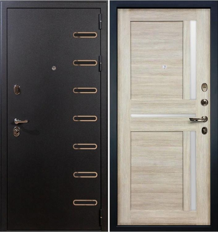 Входная дверь Лекс Витязь / Баджио Кремовый ясень (панель №49)