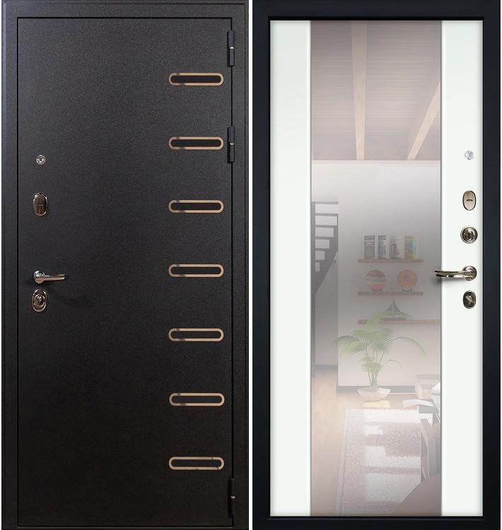 Входная дверь Витязь / Стиль Белый экошпон (панель №61)