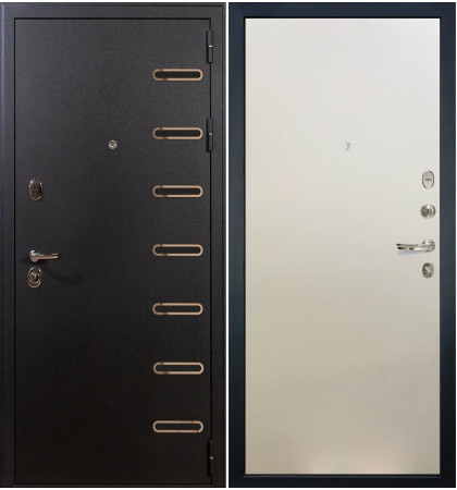Входная дверь Витязь / Белый ясень (панель №62)