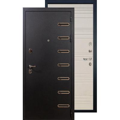 Входная дверь Лекс Витязь ФЛ-63 (Дуб фактурный крем)