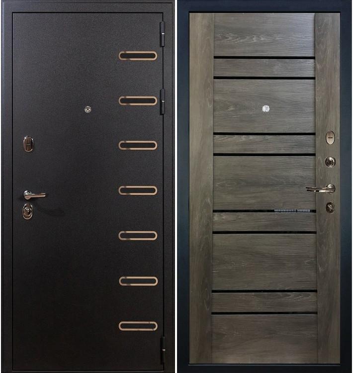 Входная дверь Витязь / Терра Графит шале (панель №64)