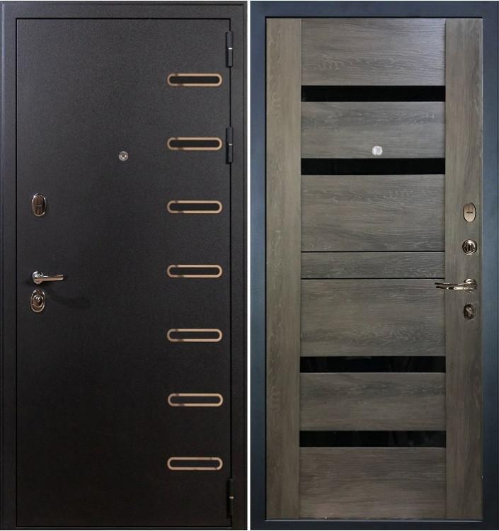 Входная дверь Лекс Витязь / Неро Графит шале (панель №65)