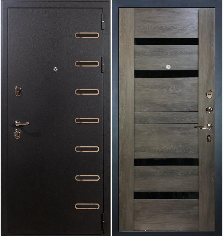 Входная дверь Витязь / Неро Графит шале (панель №65)