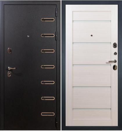 Входная дверь Витязь / Клеопатра Беленый дуб (панель №58)