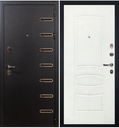 Входная дверь Витязь / Белая шагрень (панель №68)