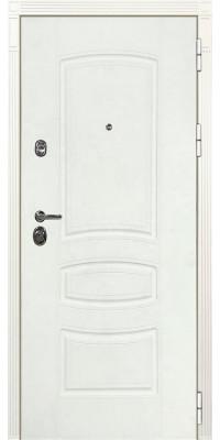 Дверь Лекс Император 3К Шагрень белая